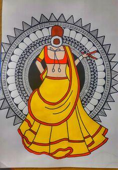 Doodle Art Drawing, Mandala Drawing, Peacock Drawing, Art Drawings For Kids, Art Drawings Sketches Simple, Disney Drawings, Mandala Art Lesson, Mandala Artwork, Madhubani Art