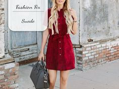 Fashion Fix: Suede - My Simply Special