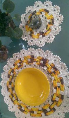 Crochet Coaster Pattern, Crochet Motif, Crochet Designs, Crochet Doilies, Crochet Flowers, Crochet Stitches, Crochet Patterns, Decoration, Diy And Crafts