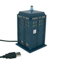[UK-Import]Doctor Who Tardis USB 4 Port Hub
