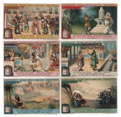 Queen of Sheba Königin von Saba Oper Opera Lithographie lithograph Liebig | eBay