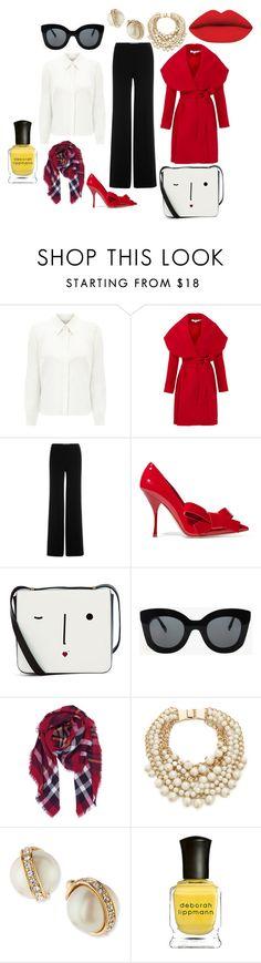 """Business Beauty"" by worthen-ava on Polyvore featuring Eastex, Keepsake the Label, Diane Von Furstenberg, Miu Miu, Lulu Guinness, CÉLINE, Humble Chic, Kate Spade, Deborah Lippmann and women's clothing"