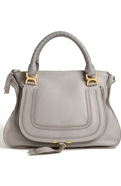 Chloé 'Marcie - Large' Leather Satchel available at #Nordstrom