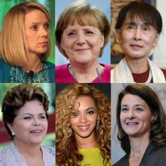The World's 100 Most Powerful Women 2012 - Refreshing to see the number of women leading countries, industry, technology and the whole mix. Excellent!
