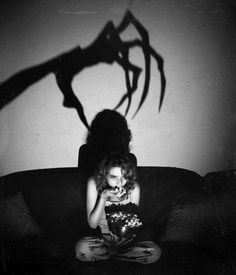 When you'e watching alone - - hollywood and horror movies