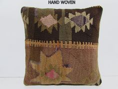 In lounge kilim pillow garnish throw pillow embroidery decorative pillow rustic pillow cover living room decorating p Kilm Pillows, Rustic Pillows, Baby Pillows, Decorative Pillows, Throw Pillows, Pillow Embroidery, Embroidery Hearts, Embroidery Monogram, Embroidery Hoop Art
