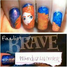 Brave Nails oh @kimberlyhill !!!!