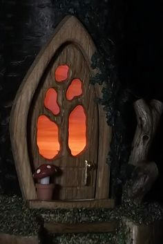 Home_ElvenTree woodcrafted fairy dwellings