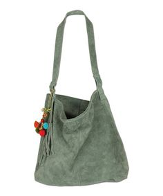 Another great find on #zulily! Karma Teal Suede Hobo by Karma #zulilyfinds