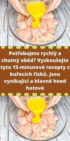 Quick Recipes, Cooking Recipes, Healthy Recipes, Healthy Food, Czech Recipes, Cooking Light, Fruit Smoothies, Poultry, Brunch