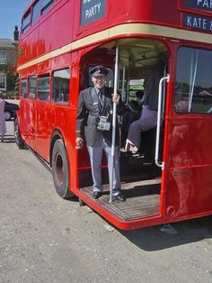 "Bus Conductors. Until the 1970s & early 1980s, conductors, or clippies, were a common feature of many local bus services. Two-person crews were needed  because until the 1960s, all double deck vehicles were built with front-mounted engines & a ""half-cab"" design. This layout totally separated the driver from the passenger saloons. The conductor communicated with the driver using a series of bell codes, such as two bells to start (the well-known ""ding-ding"")."