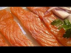 Мульти Рецепт     Italian Recipes    : Засолка Лосося Быстро / Salting Salmon Quickly