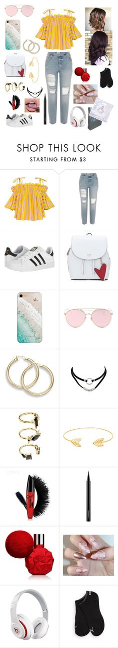 """Shopping Spree!"" by maryam-mohamed ❤ liked on Polyvore featuring adidas, Gray Malin, LMNT, Noir Jewelry, Lord & Taylor, MAC Cosmetics, Beats by Dr. Dre, Puma and MM6 Maison Margiela"