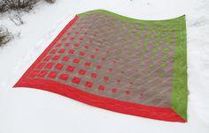 Modern Geometric Three Color Quilt Pattern. Patchwork Takaró Szabásminták Ágynemű 1834eed429