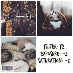 Vsco filter for fall
