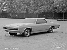 OG | 1970 Chevrolet Chevelle Mk2 Sport Coupé | Full-size clay model dated Aug. 1967