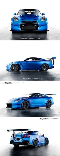 2014 Nissan GT-R by SP Engineering for Fast and Furious 6