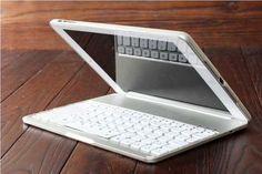 Cheap Best Apple Unique Metal Black Silve iPad Air Keyboards For iPad Air IPK05