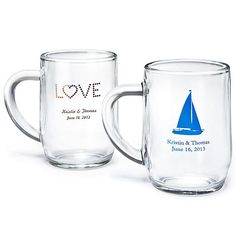 useful wedding favors | ... Glass Mug as wedding favors. much more useful than other favors