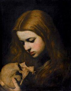 Maria Maddalena in Meditazione, Jusepe de Ribera