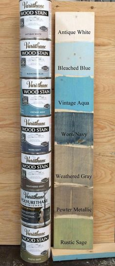 Colored Stains | Ana White Woodworking Projects #DiyWoodWall #WoodProjectsEasy