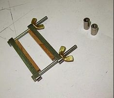 Jewelry Tool Making - Azure Tool Bolts and Nuts