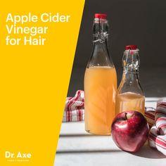 ACV hair rinse - Dr. Axe http://www.draxe.com #health #holistic #natural