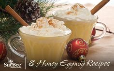 8 Honey Eggnog Recipes