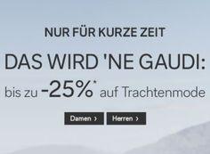 C&A: Trachten-Rabatt von 20 Prozent und reduzierte Versandkosten https://www.discountfan.de/artikel/klamotten_&_schuhe/ca-trachten-rabatt-von-20-prozent-und-reduzierte-versandkosten.php Kurz vor dem Oktoberfest haut C&A Trachtenmode mit Preisabschlägen von bis zu 25 Prozent raus – dreiteilige Dirndl gibt es so ab 59,20 Euro, Lederhosen ab 74,20 Euro. Obendrein locken reduzierte Versandkosten und Gutscheine. C&A: Trachten-Rabatt von 20 Prozent und reduzierte .