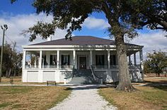 Beauvoir (Biloxi, Mississippi) - the historic post-war home (1876-1889) of the former Confederate President Jefferson Davis