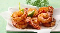 Quick-to-cook shrimp means you can get this spicy appetizer on the table in just 15 minutes!
