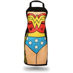 Wonder Woman apron!