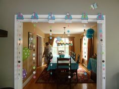 Cupcake Party room