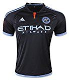 Adidas Climacool Football Jersey: 2015 New York City FC Football Jersey Men Soccer Fan MLS Shirt L S