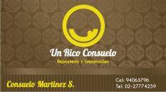 """Tarjeta de Presentación """"Un Rico Consuelo"""""""