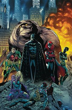 """DC COMICS (W) James TynionIV (A/CA) Eddy Barrows, Eber Ferreira """"Rise Of The Batmen"""" part 7! This epic concludes with a battle against the Colony that will change Batman's world forever-and in a way y"""
