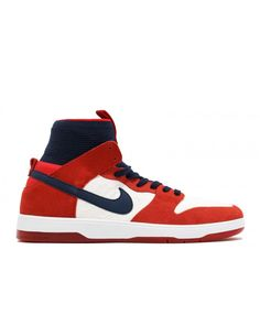 best service 9f449 aba83 Nike Sb Zoom Dunk High Elite Univeresity Red, College Navy 917567-641 Nike  Sb