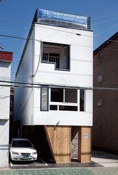 [BY 전원주택라이프] 김재학(44)·손혜영(40) 부부는 서울 중랑구 면목동에 소형주택을 지었다.
