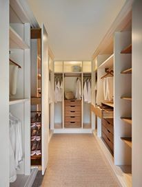 Like: Walk in wardrobe in master bedroom