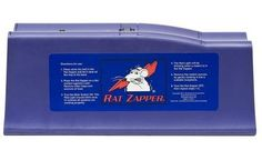 Rat Zapper Rat Killer at Lowe's. Get rid of large-size rats quickly and effectively with the Rat Zapper Classic Rat Trap. From set-up and use through cleaning and maintenance, each zap Electric Rat Trap, Anti Rat, Getting Rid Of Rats, Dead Mouse, Les Rats, Rat Traps, Best Pest Control, Red Led Lights, Backyard Farming