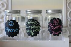 Money saving/awareness jars