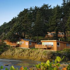 One of our new favorites: Iron Springs Resort on the Washington Coast.