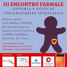 Último Encontro Farmale do ano! Tema: Ostomia e Doenças Inflamatórias Intestinais