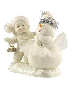 Accessorizing the Snowman Figurine by Department 56 #zulily #zulilyfinds