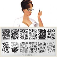 Love them! moyou Nail Art design Image Plates-pro collection
