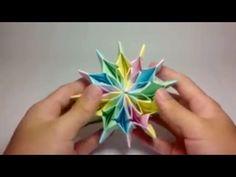 Fireworks - origami