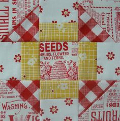 Bee In My Bonnet: Farmers Wife Quilt-a-Long.../ how to sew triangles for quilting