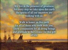 We live in the presence of greatness.....