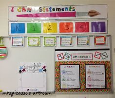I Can Statement Display Art Classroom Posters Elementary I Can Statement Display Art Classroom Posters Elementary<br> Art Classroom Posters, Art Classroom Decor, Art Room Posters, Art Classroom Management, Classroom Displays, Classroom Organization, Classroom Ideas, Class Management, Modern Classroom