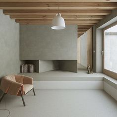Bell lamp completes this Nordic, industrial interior